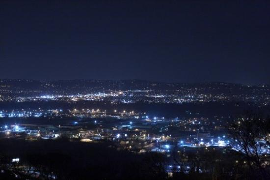 Lookout Mountain : lookin out over Chattanooga!