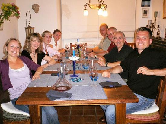 Dinner at La Maison de Rocbaron 16 Sept 09