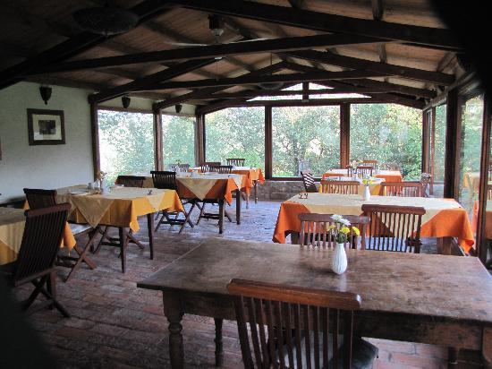 Locanda del Gallo : Inside of where you have meals