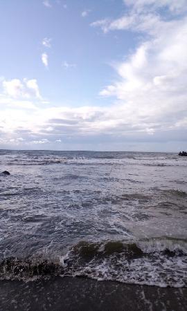 Joetsu, اليابان: 直江津の海