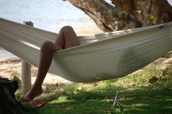 Lawaki Beach House: hammock lifestyle