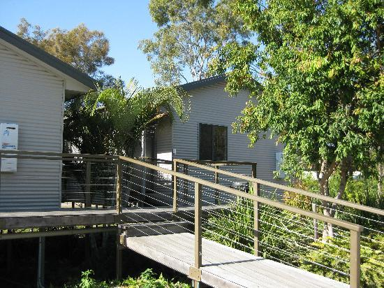 Gold Coast Holiday Park & Motel : The front entrance