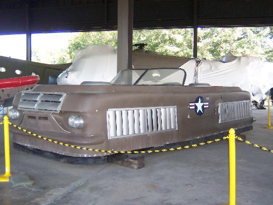 U.S. Army Transportation Museum: Looks like a 57 Buick, nope, it's a hubba-craft. woo.