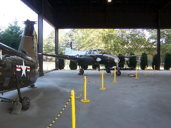 U.S. Army Transportation Museum: plane