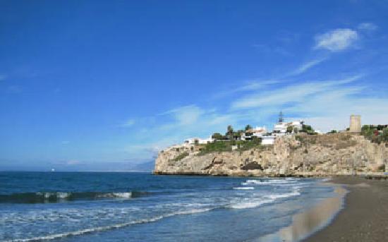 Rincon de la Victoria, Hiszpania: Playa Rincon