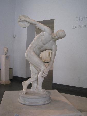 Museo Nazionale Romano - Palazzo Massimo alle Terme: ランチェロッティの円盤投げ