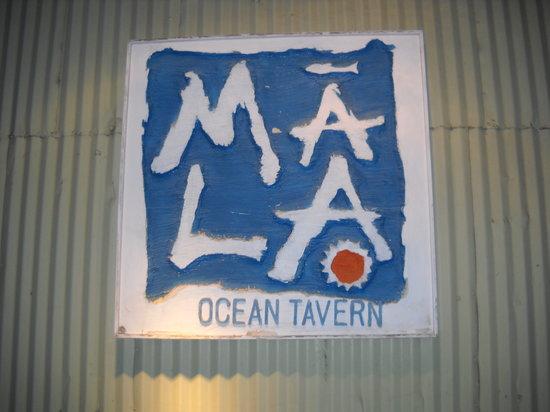 Ma'la - An Ocean Tavern: Front Entrance