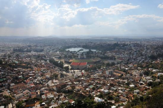 Sole Hotel: Antananrivo view poin