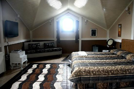 Hotel Sultansaray: The top room - a beautifully converted attic