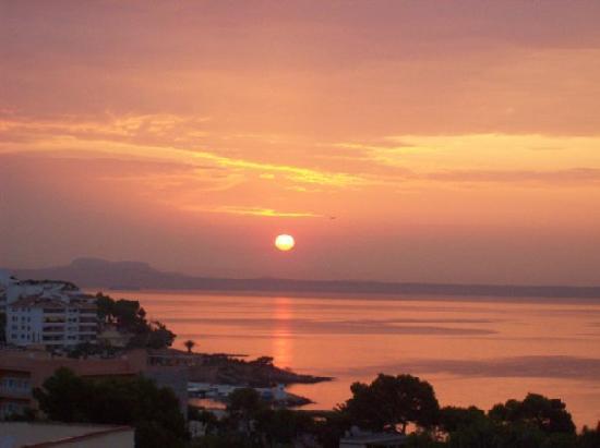 Globales Palmanova: sun rise