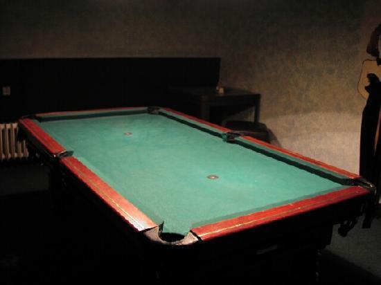 Restaurace Skalka: billiard