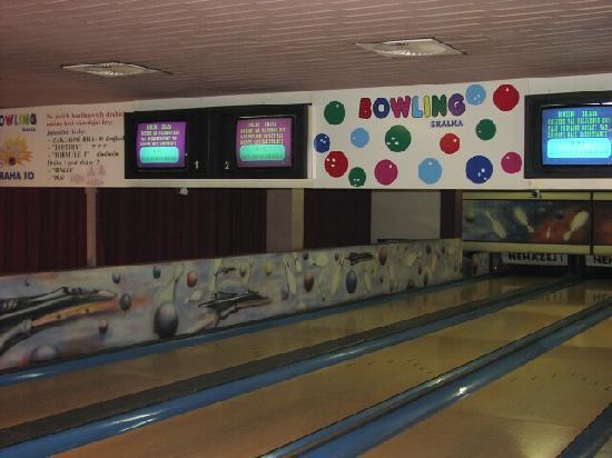 Restaurace Skalka: bowling