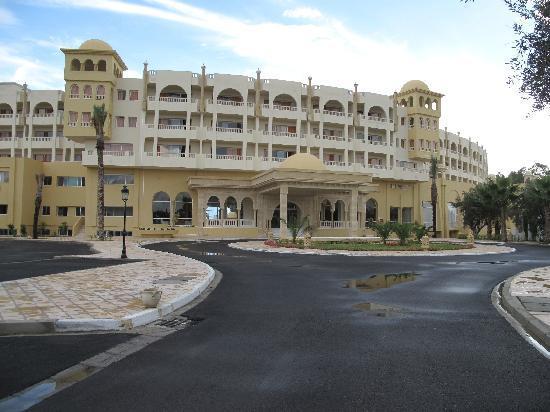 Hotel Palace Hammamet Marhaba: ENTRADA E FACHADA PRINCIPAL