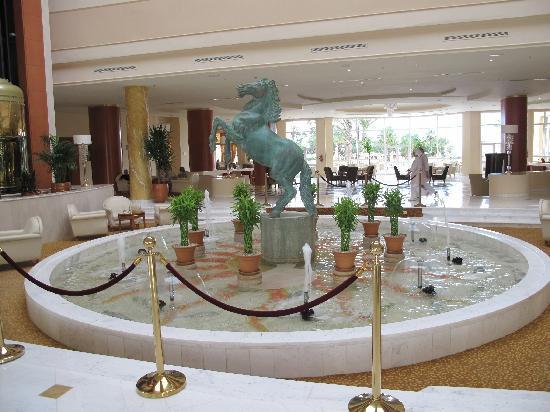 Hotel Palace Hammamet Marhaba: HALL DE ENTRADA