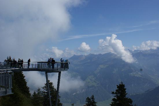 CabriO - Stanserhorn-Bahn : view from Stanserhorn