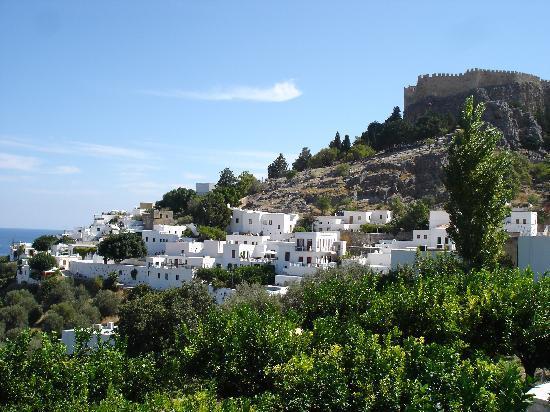 Capsis Hotel Rhodes : Village & acropole Lindos