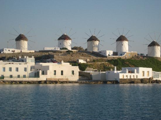 Mykonos Grand Hotel & Resort: Town of Mykonos