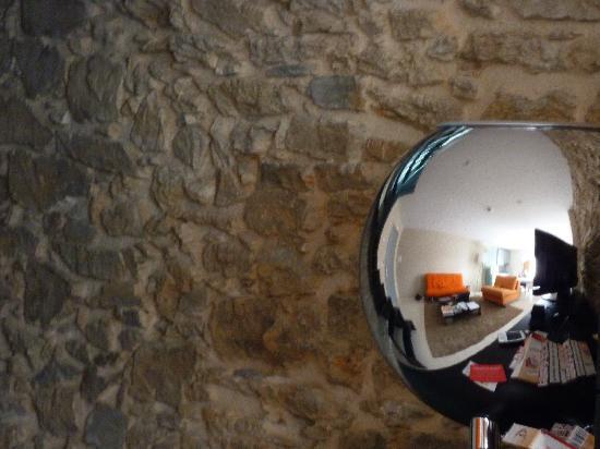 Posada La Pascasia: Detalle del salón