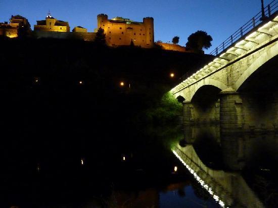 Posada La Pascasia: Vista nocturna