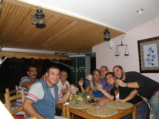 Hotel by Sofia: Cenando en el hotel
