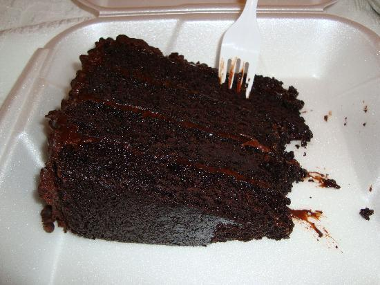Pepper's Grill: a great chocolate cake