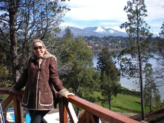 Charming - Luxury Lodge & Private Spa: Foto desde el balcon del Living