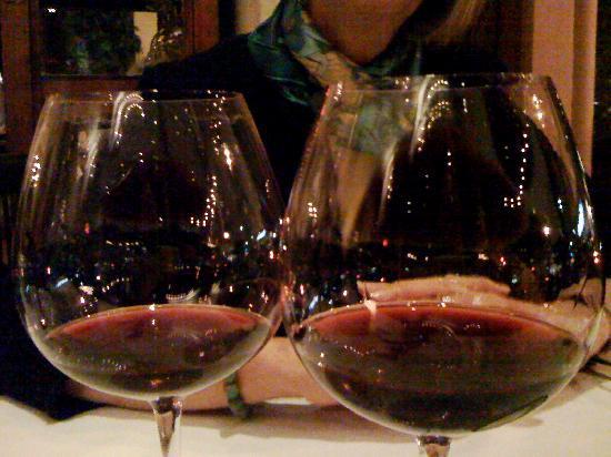 JiRaffe Restaurant : a fine Pinot