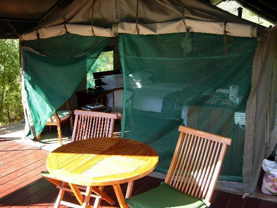 Karukareb Wilderness Reservaat Lodge: Balcony view