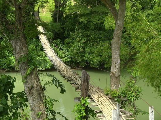Alona Studios Hotel: Bambu Bridge