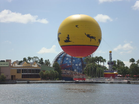 Walt Disney World, Флорида: Hot Air Balloon Ride Downtown Disney