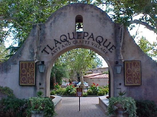 El Rincon Restaurante Mexicano Entrance To Tlaquepaque The Bell Tower