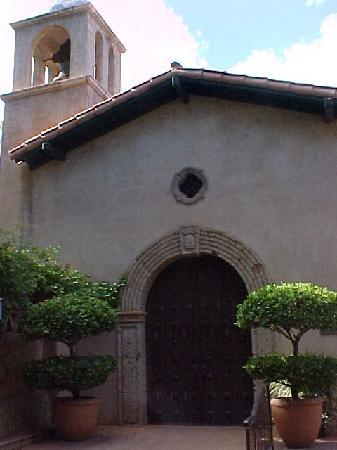 The chapel at Tlaquepaque