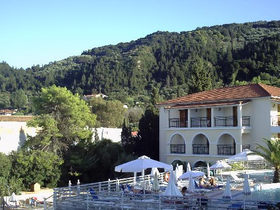 Katerina Palace Hotel: View from Room