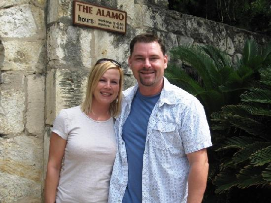 Tommy And Lisa At The Alamo Picture Of San Antonio
