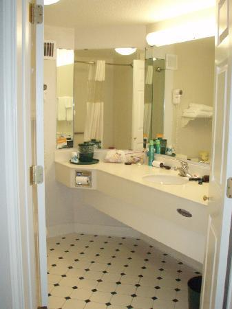 La Quinta Inn & Suites Atlanta Ballpark at Cobb Galleria: Bathroom