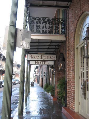 Place D Armes Hotel New Orleans La