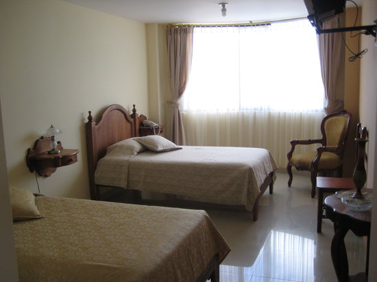 Cotacachi, Ecuador: Twin bedroom