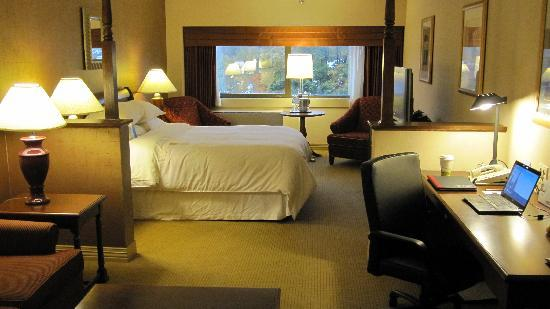 Sheraton Syracuse University Hotel & Conference Center: Junior Suite (room 312)
