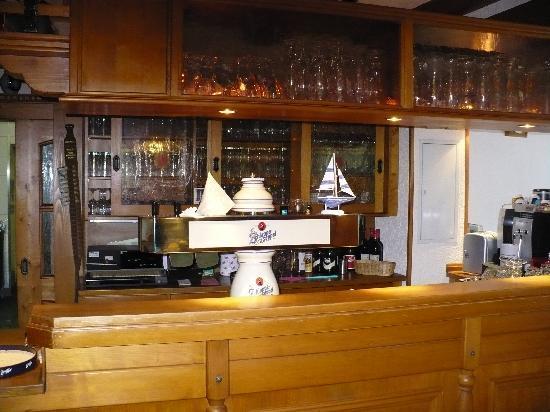 Hotel Waldhaus: The cozy bar