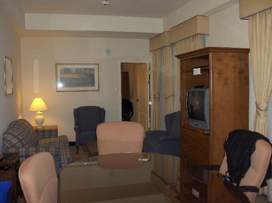 Quebec City Marriott Downtown: Executive Suite - Room 1