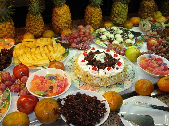 Food On Christmas Night Picture Of Clubhotel Riu Merengue Puerto Plata Tripadvisor