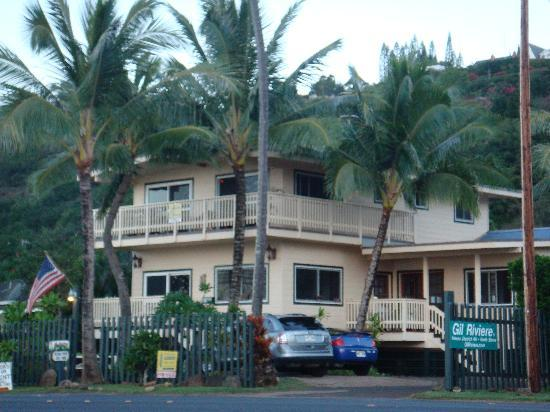 Sharks Cove Rentals: Front of Sharks Cove