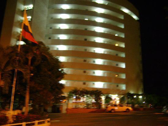Decameron Galeón: vista hotel entrada principal