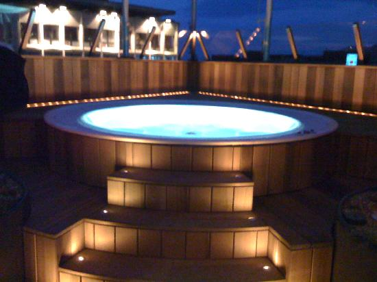 Astra Hotel Vevey : Jacuzzi on the roof