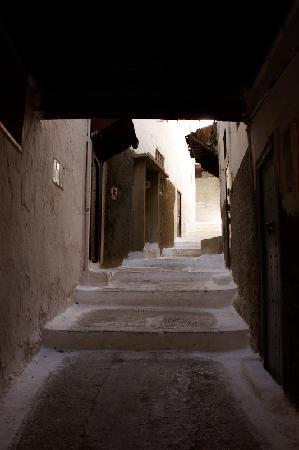 Riad Menthe et Citron: El callejon de acceso
