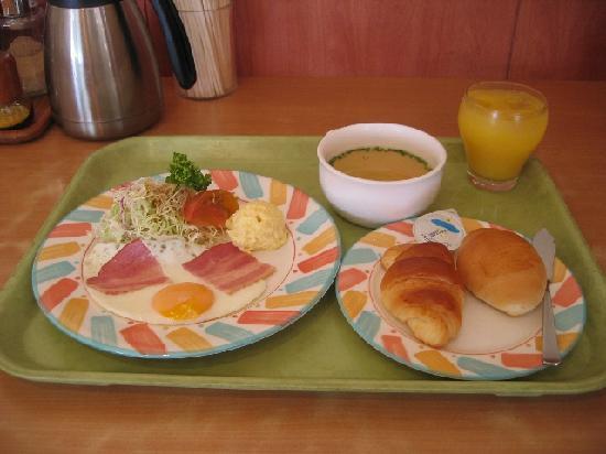 Hotel New Amami : 洋朝食