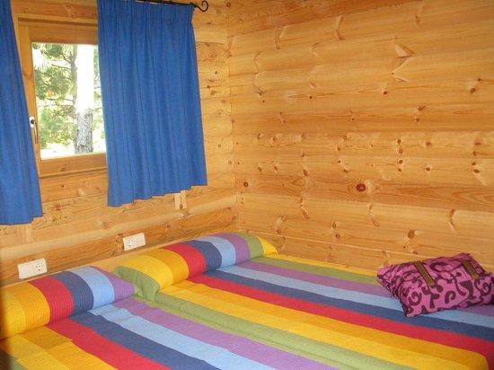 Camping Caravaning Cuenca: Dormitorio doble (twin)