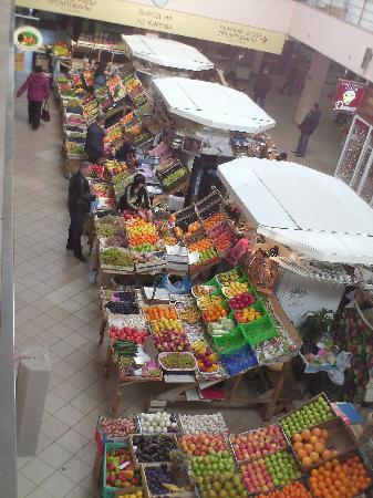 Kazan, Russia: Il mercato centrale