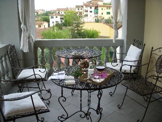 Valdirose: la cálida terraza