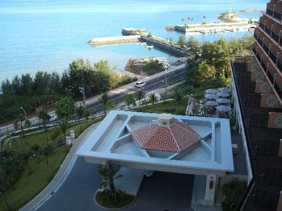 Kafuu Resort Fuchaku Condo Hotel : 部屋からの景色です